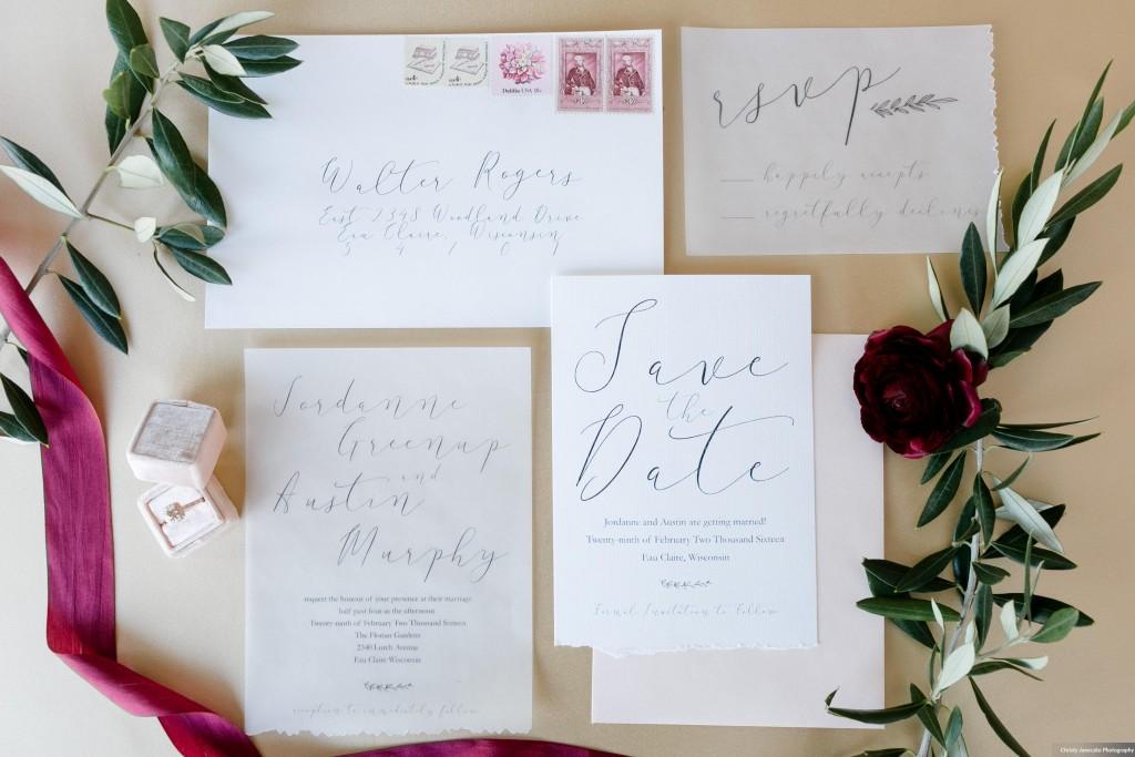 Writefully Simple Custom Wedding Stationery | www.writefullysimple.com