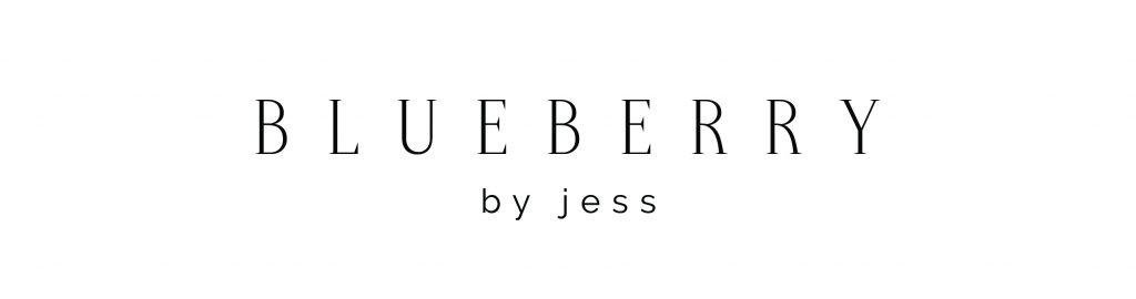 Blueberry by Jess Logo | Designed by Writefully Simple | www.writefullysimple.com